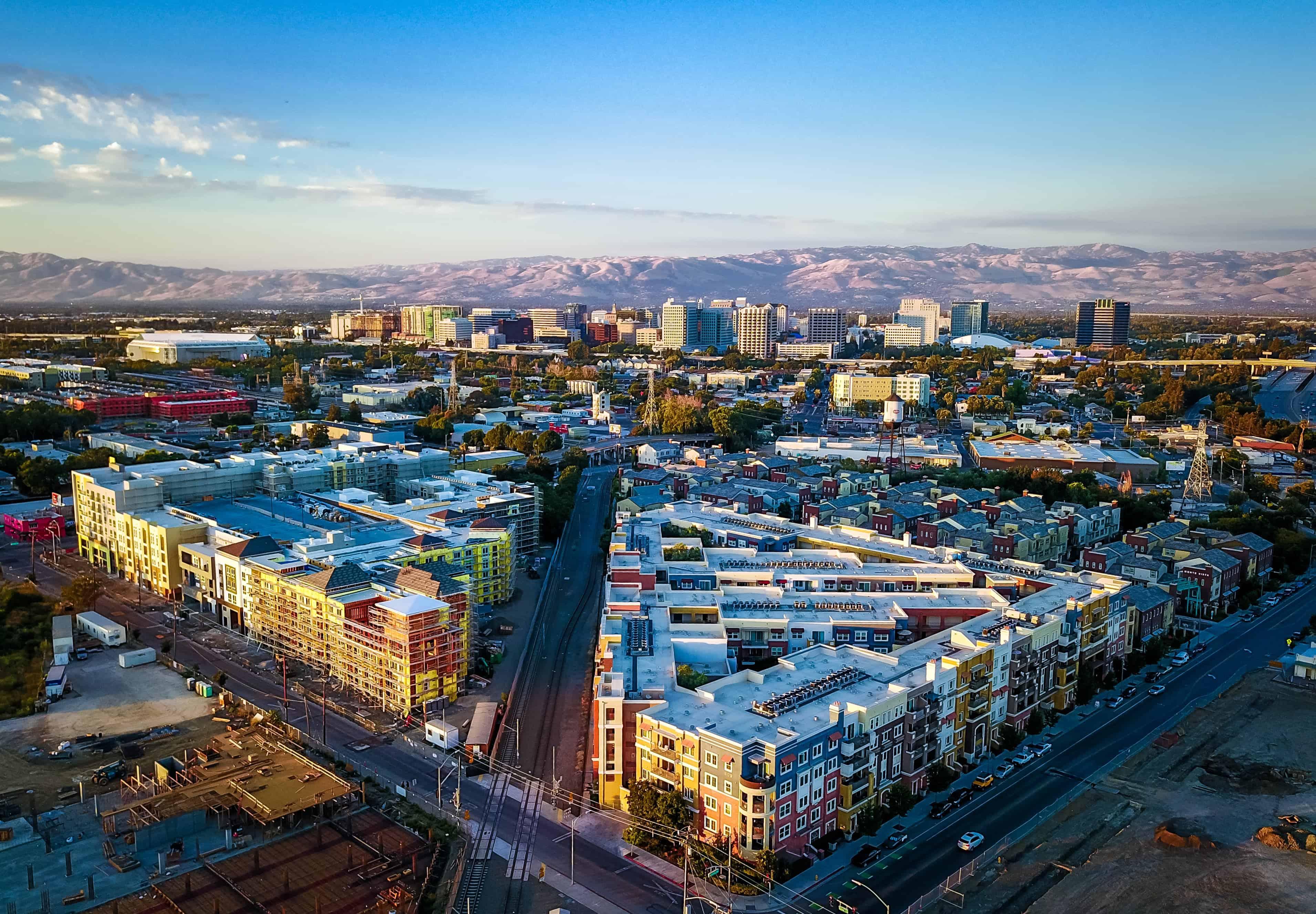 Image of San Jose Skyline with text