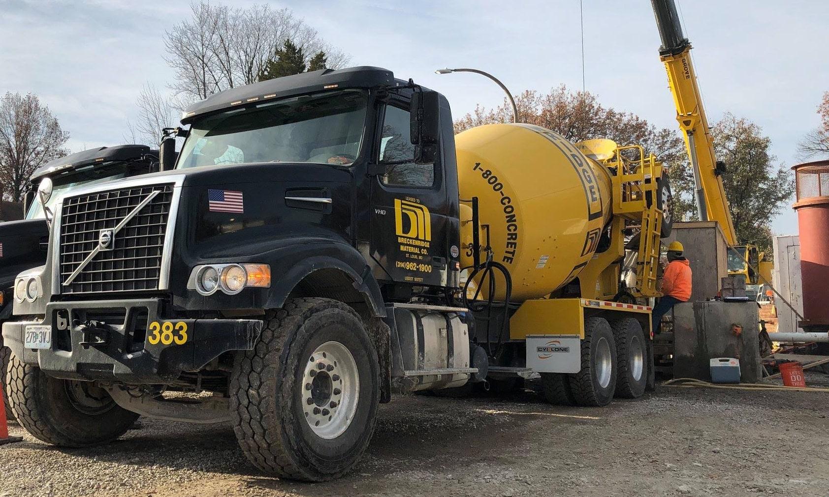 Concrete Delivery St Louis Mo Delivering Fresh Concrete