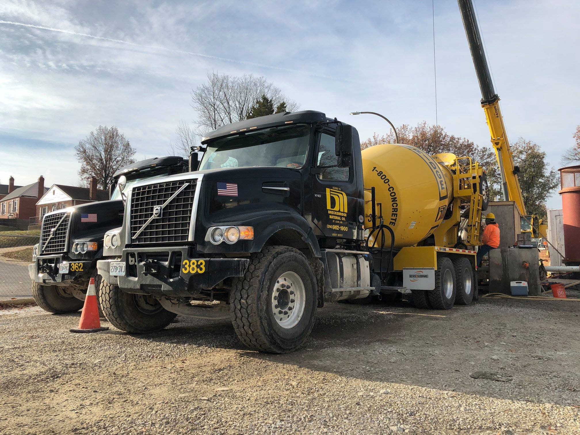 Commercial Concrete Delivery in Metro St Louis