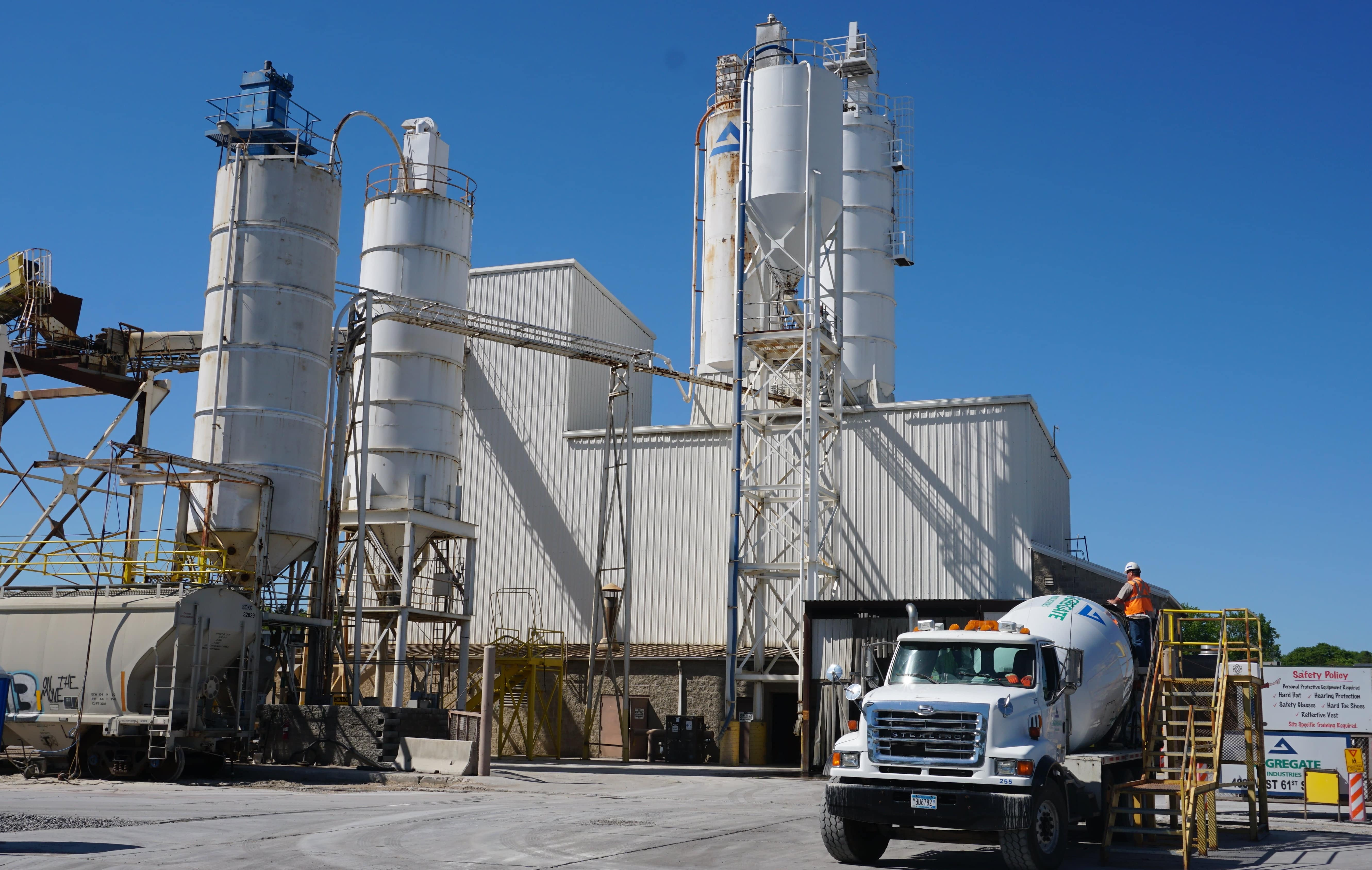 Image of Ready Mix Plant in Minneapolis,MN